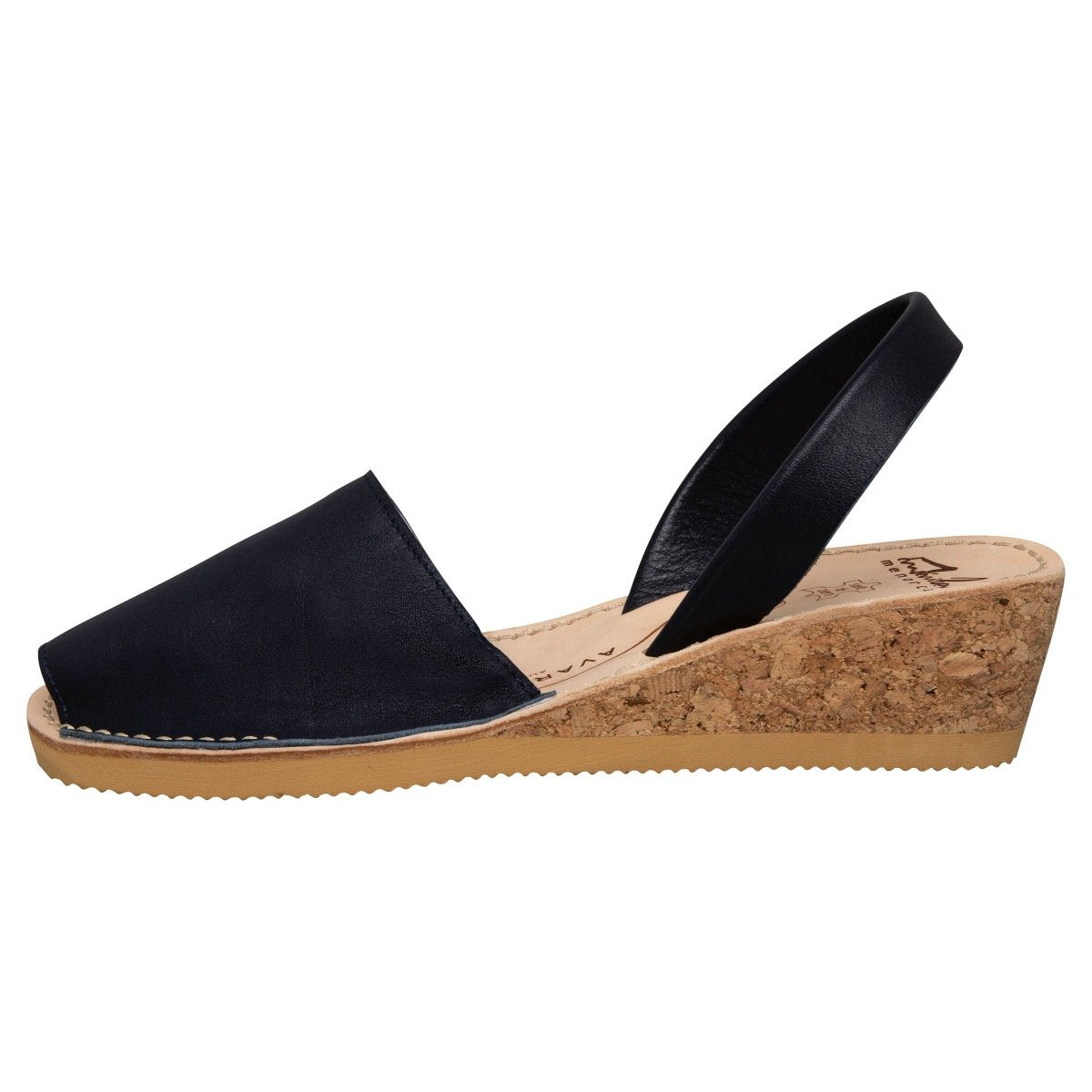 Deep Navy Wedge