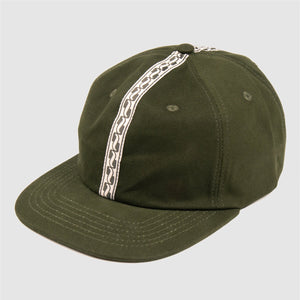 "PASS~PORT ""AUTO RIBBON"" CAP GREEN"