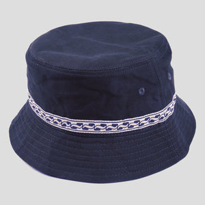 "PASS~PORT ""AUTO RIBBON"" BUCKET HAT NAVY"