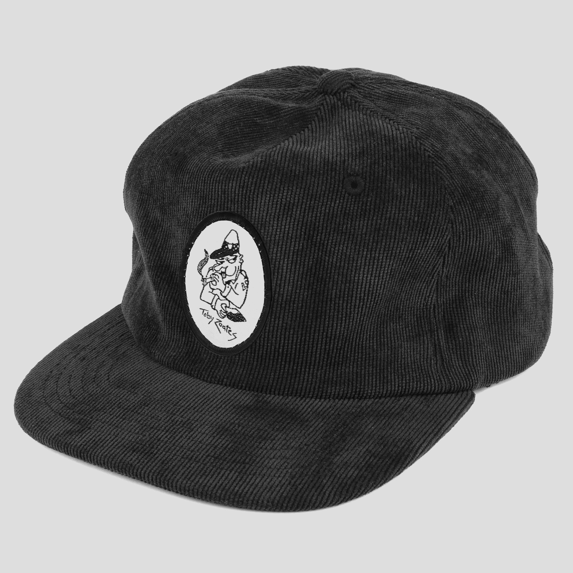 "PASS~PORT TOBY ZOATES ""COPPERS"" CAP BLACK"
