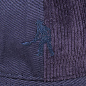 "PASS~PORT ""CORD PATCH"" BUCKET HAT NAVY"