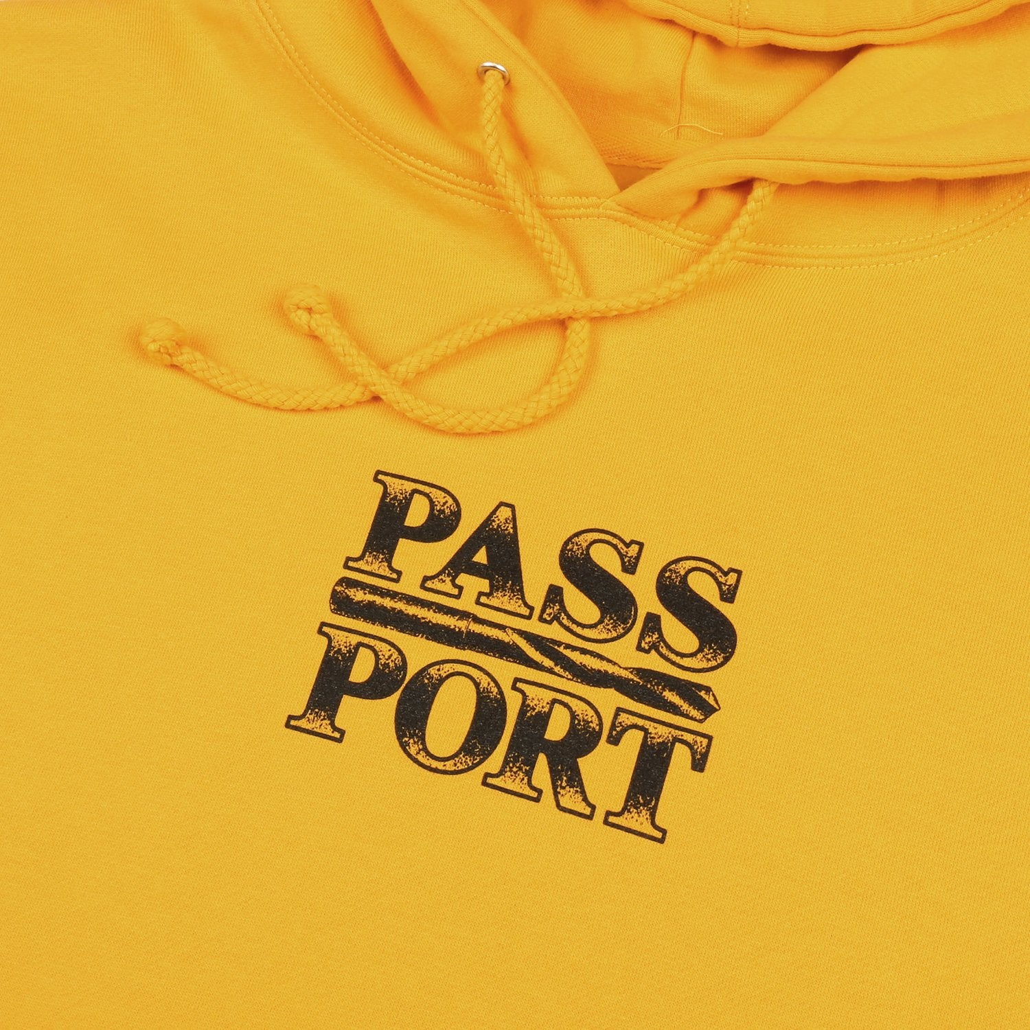 "PASS~PORT ""DRILL BIT"" HOOD GOLD"