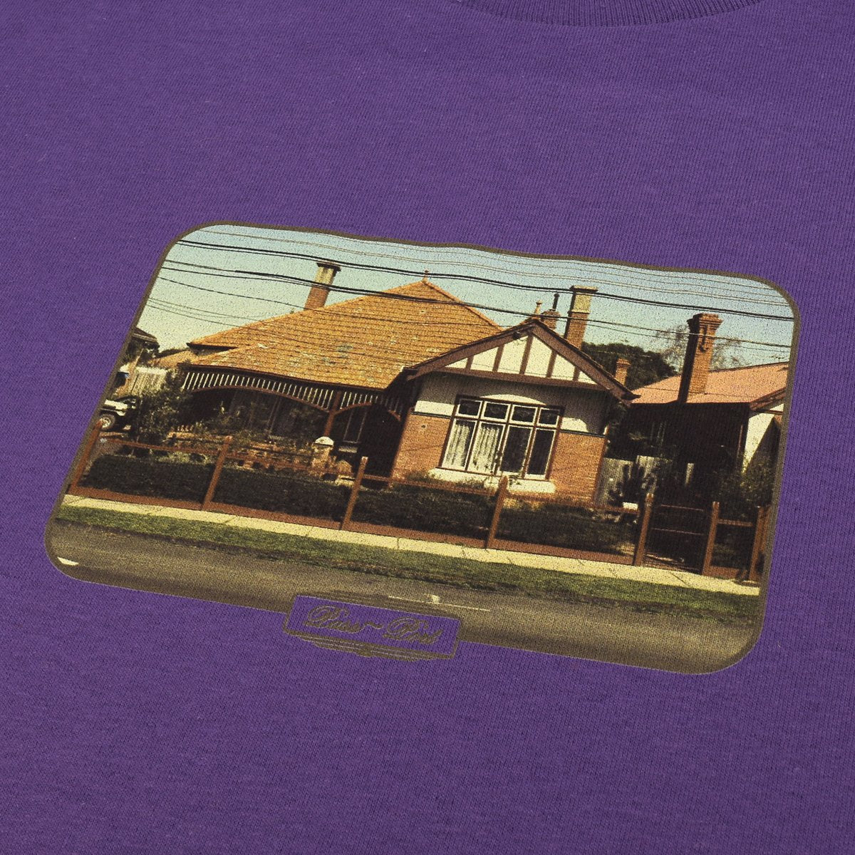 "PASS~PORT ""HOME SERIES"" TEE PURPLE"
