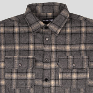 "PASS~PORT ""WORKERS"" FLANNEL GREY"