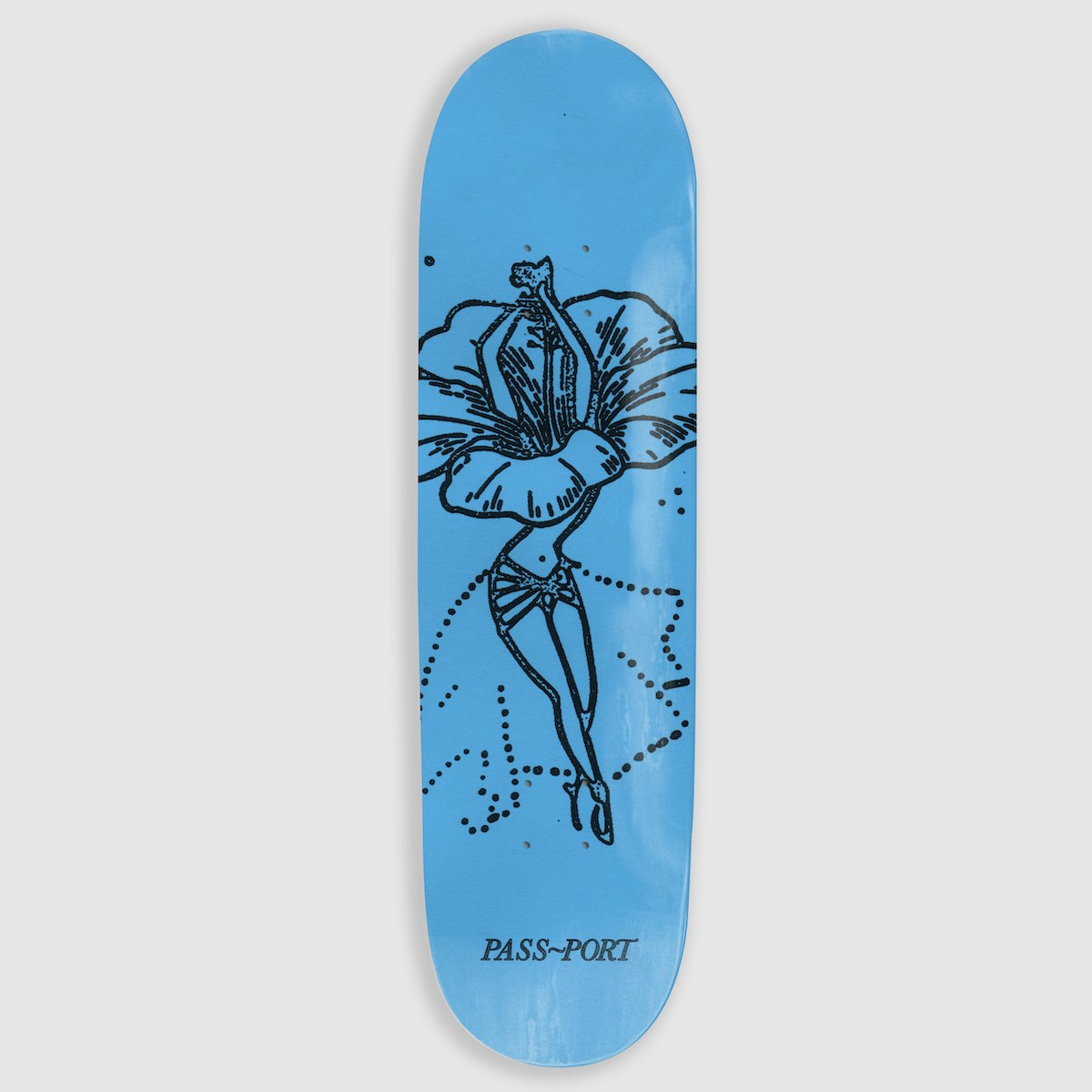 "PASS~PORT ""HIBISCUS"" FLORAL DANCER SERIES DECK"