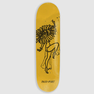 "PASS~PORT ""SUNFLOWER"" FLORAL DANCER SERIES DECK"
