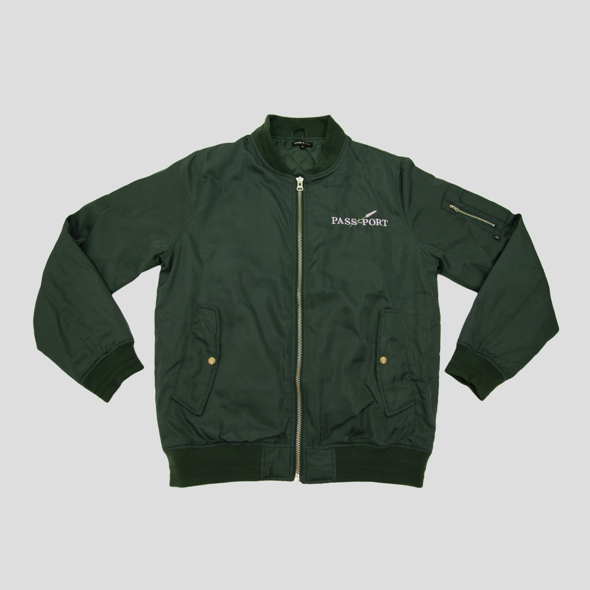 "PASS~PORT ""LAVENDER"" FREIGHT JACKET OLIVE"