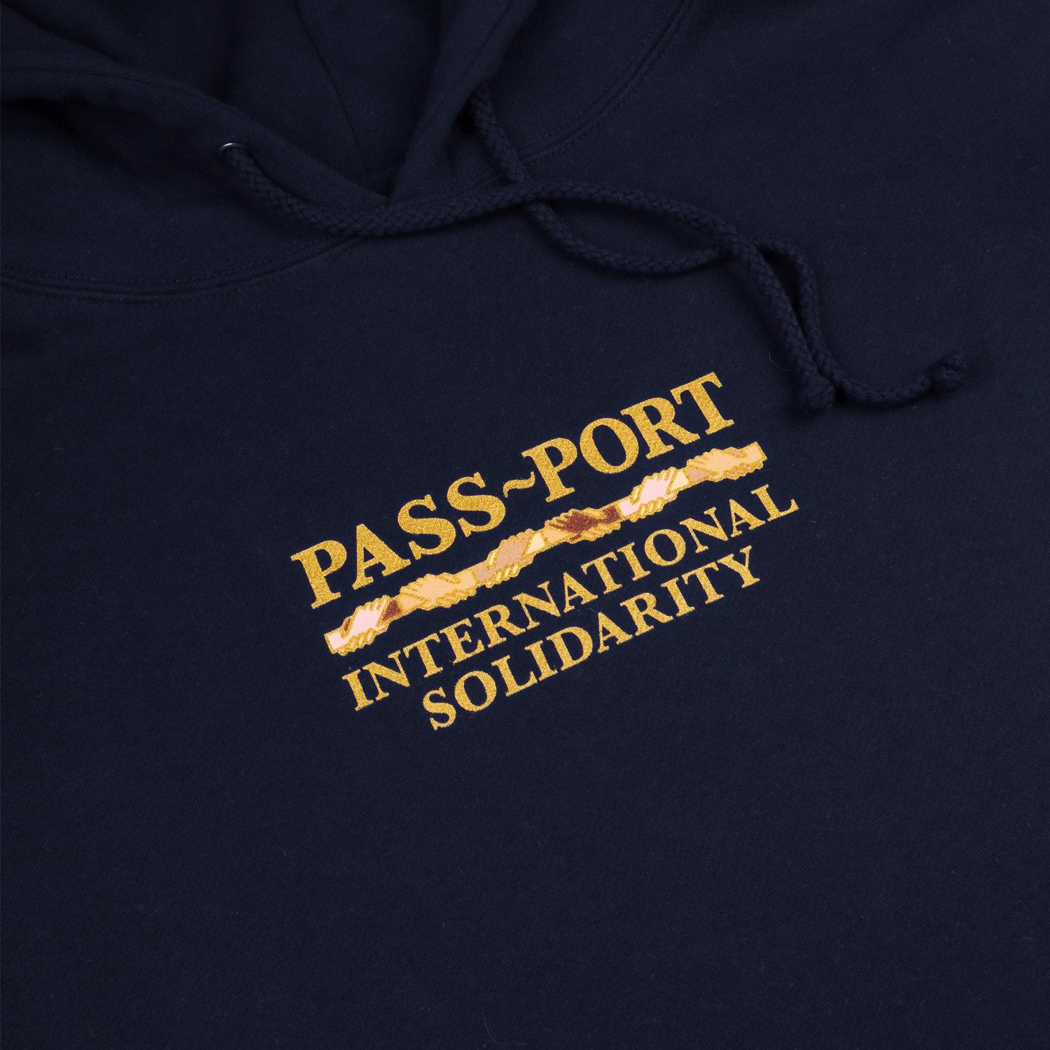 "PASS~PORT ""INTER SOLID"" HOOD NAVY"