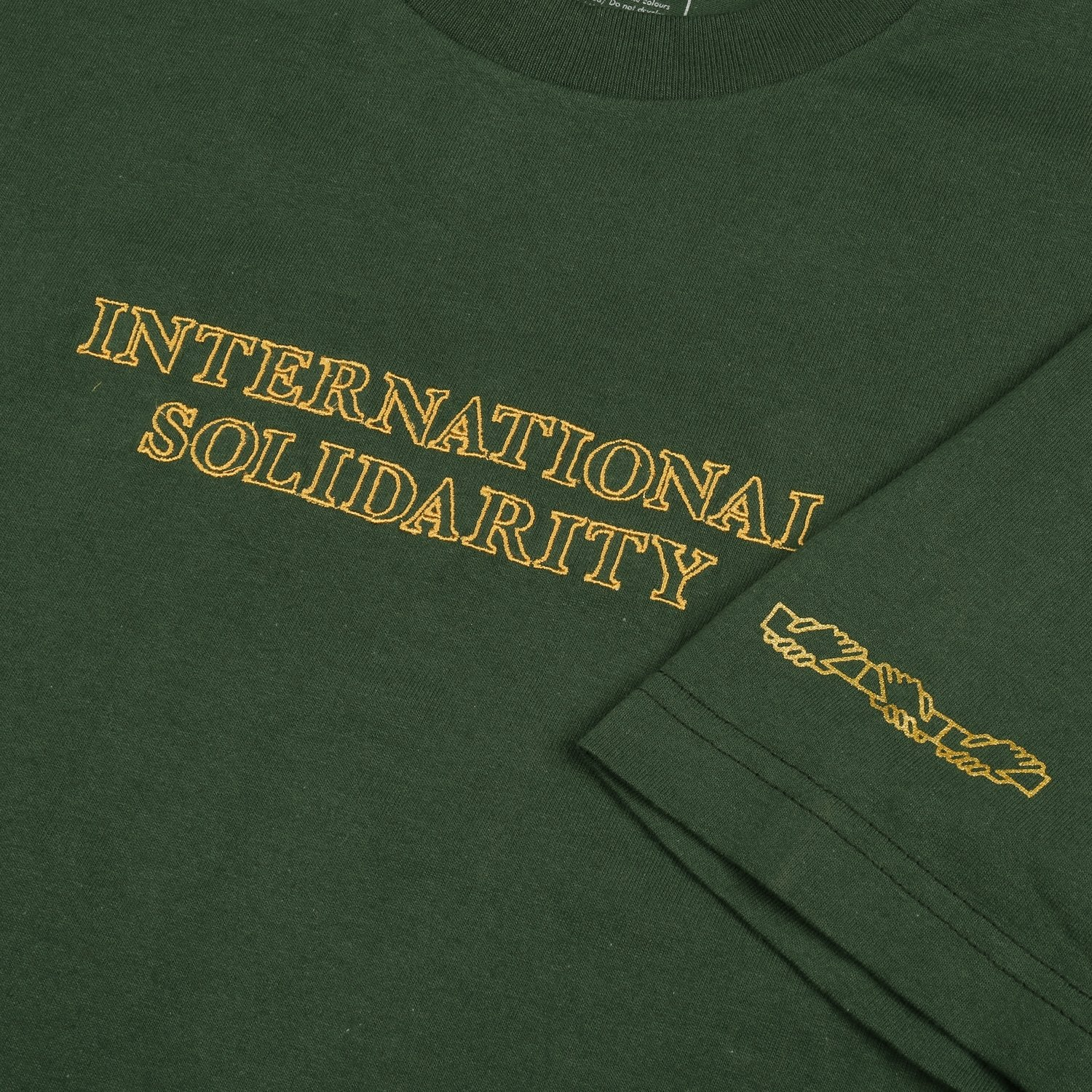 "PASS~PORT ""INTER SOLID"" TEE FOREST GREEN"