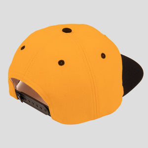 "PASS~PORT ""INTER SOLID PATCH"" CAP GOLD/BLACK"