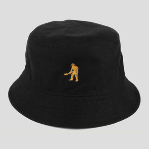 "PASS~PORT ""INTER SOLID"" REVERSABLE BUCKET HAT BLACK"