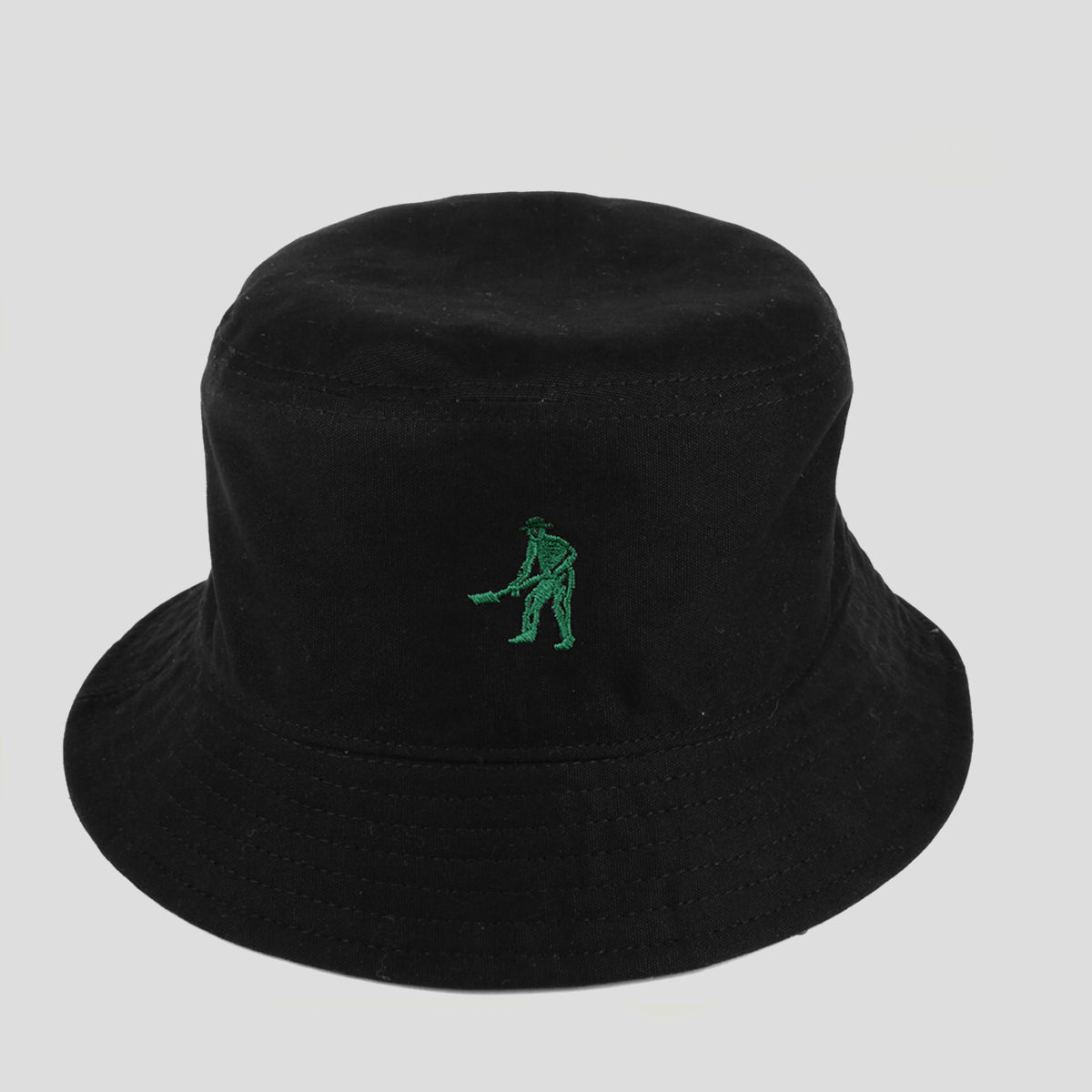 "PASS~PORT ""INTER SOLID"" REVERSABLE BUCKET HAT GREEN"
