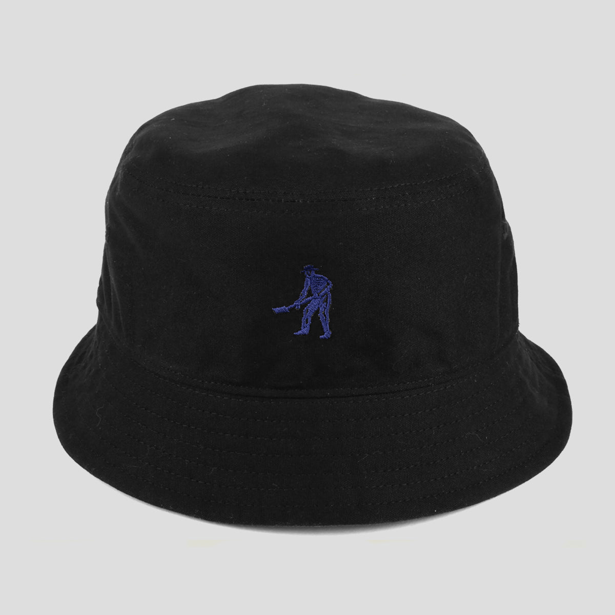 "PASS~PORT ""INTER SOLID"" REVERSABLE BUCKET HAT NAVY"