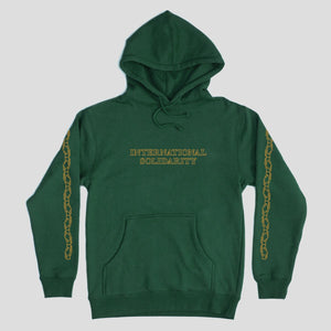 "PASS~PORT ""INTER SOLID"" HOOD FOREST GREEN"