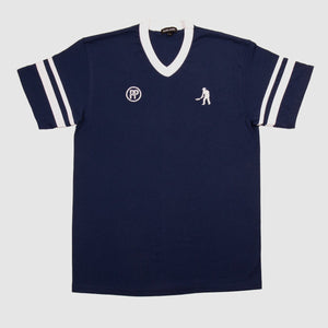 "PASS~PORT ""WORKERS STRIPES"" JERSEY NAVY / WHITE"