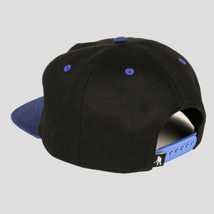 "PASS~PORT ""TREASURY"" 5 PANEL CAP BLACK/NAVY"
