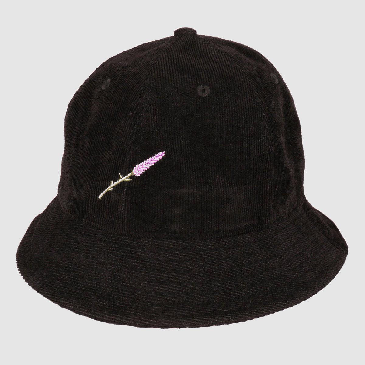 "PASS~PORT ""LAVENDER"" BUCKET CAP BLACK"