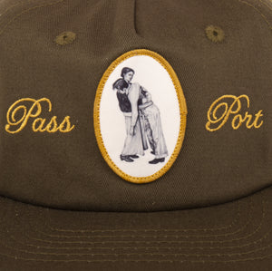 "PASS~PORT ""LEAN ON ME"" CAP OLIVE"