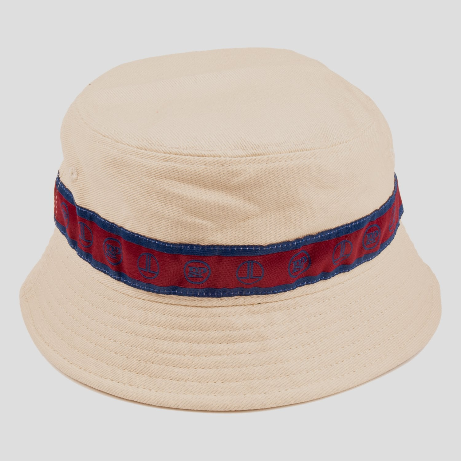 "PASS~PORT LOW LIFE ""RIBBON"" BUCKET HAT NATURAL"