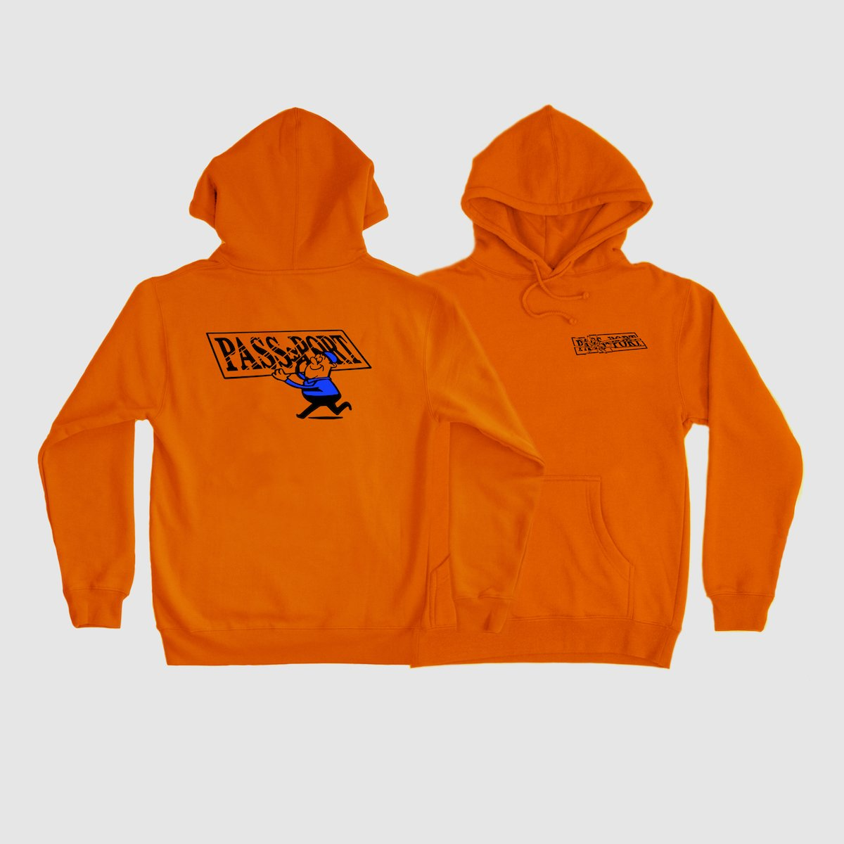 "PASS~PORT ""MIRROR MAN"" HOOD ORANGE"