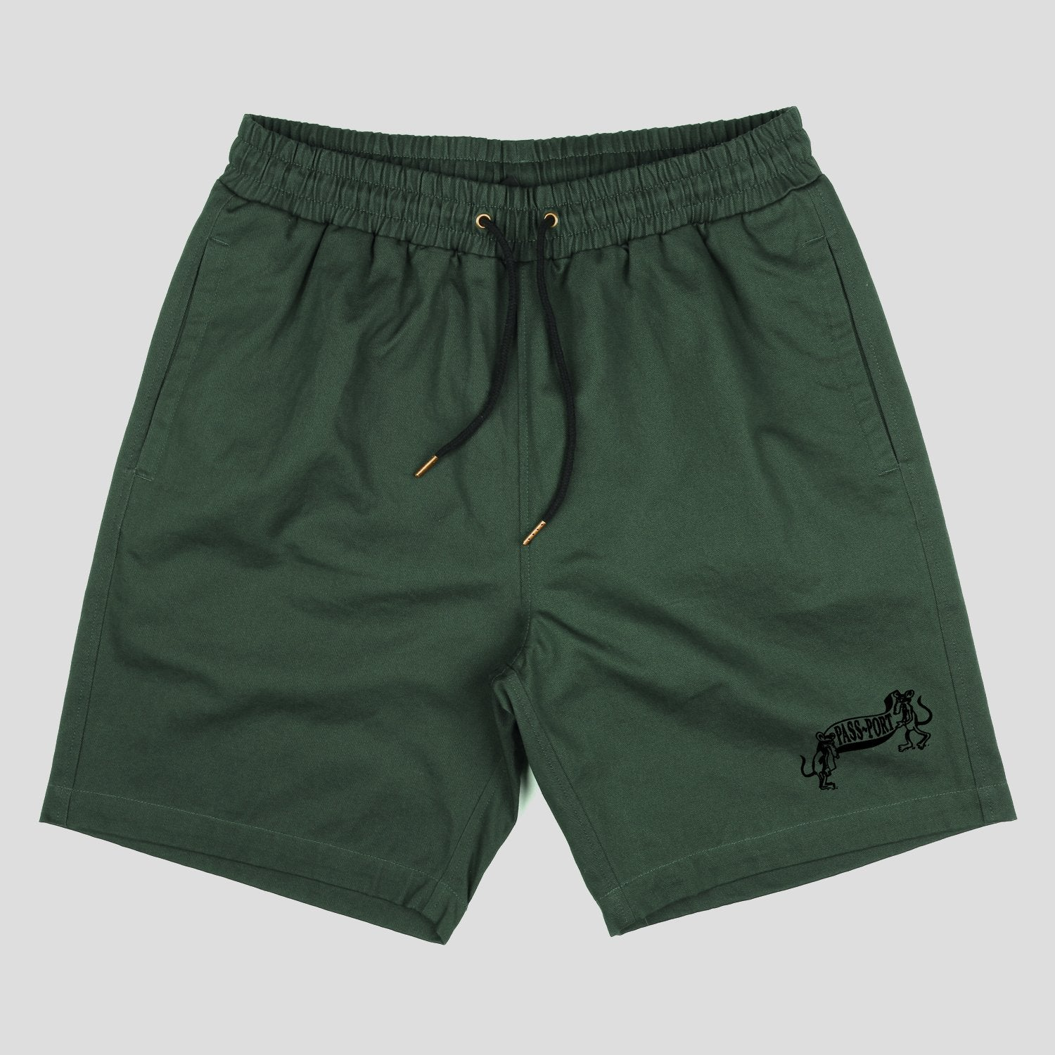 "PASS~PORT ""MISSING TILDE"" SHORT GREEN"