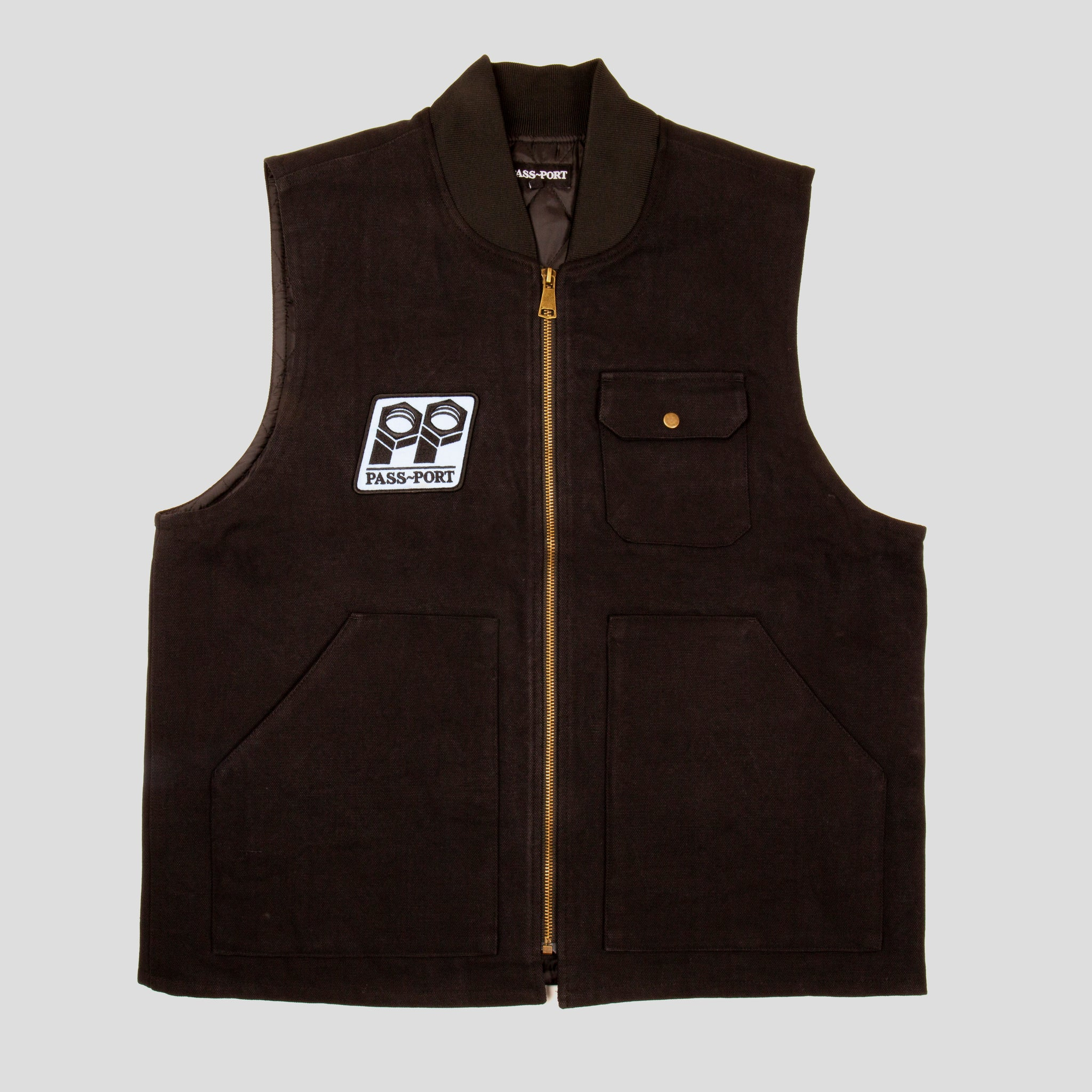 "PASS~PORT ""PACKERS"" VEST BLACK"