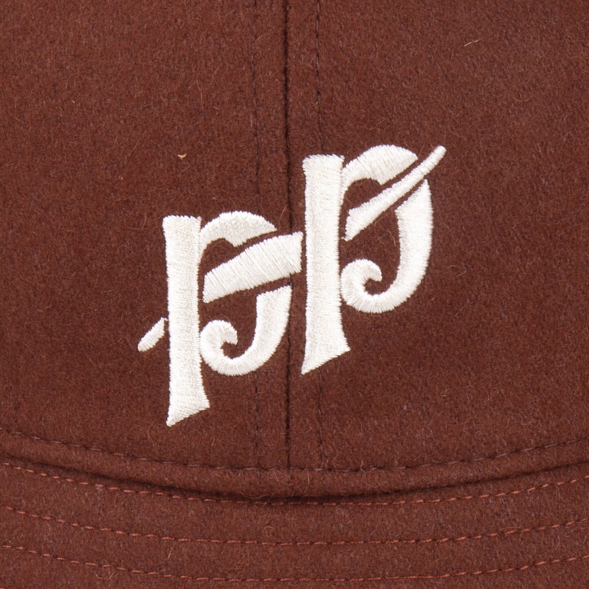 "PASS~PORT ""P~P"" BUCKET HAT CHOCOLATE"
