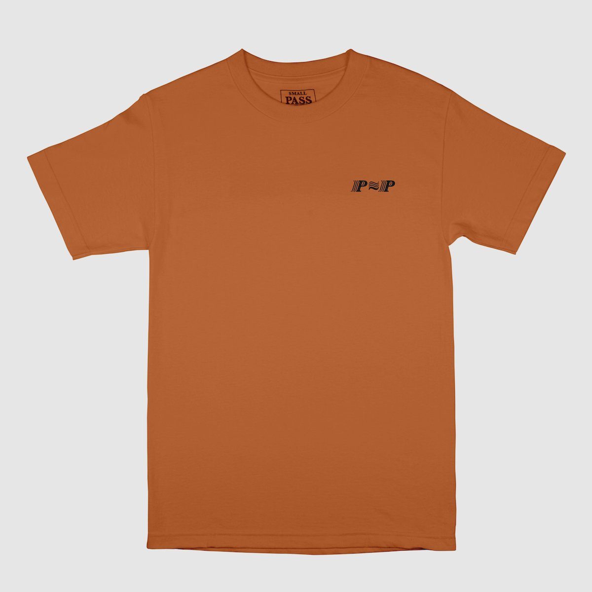 "PASS~PORT ""PPP"" TEE TEXAS ORANGE"