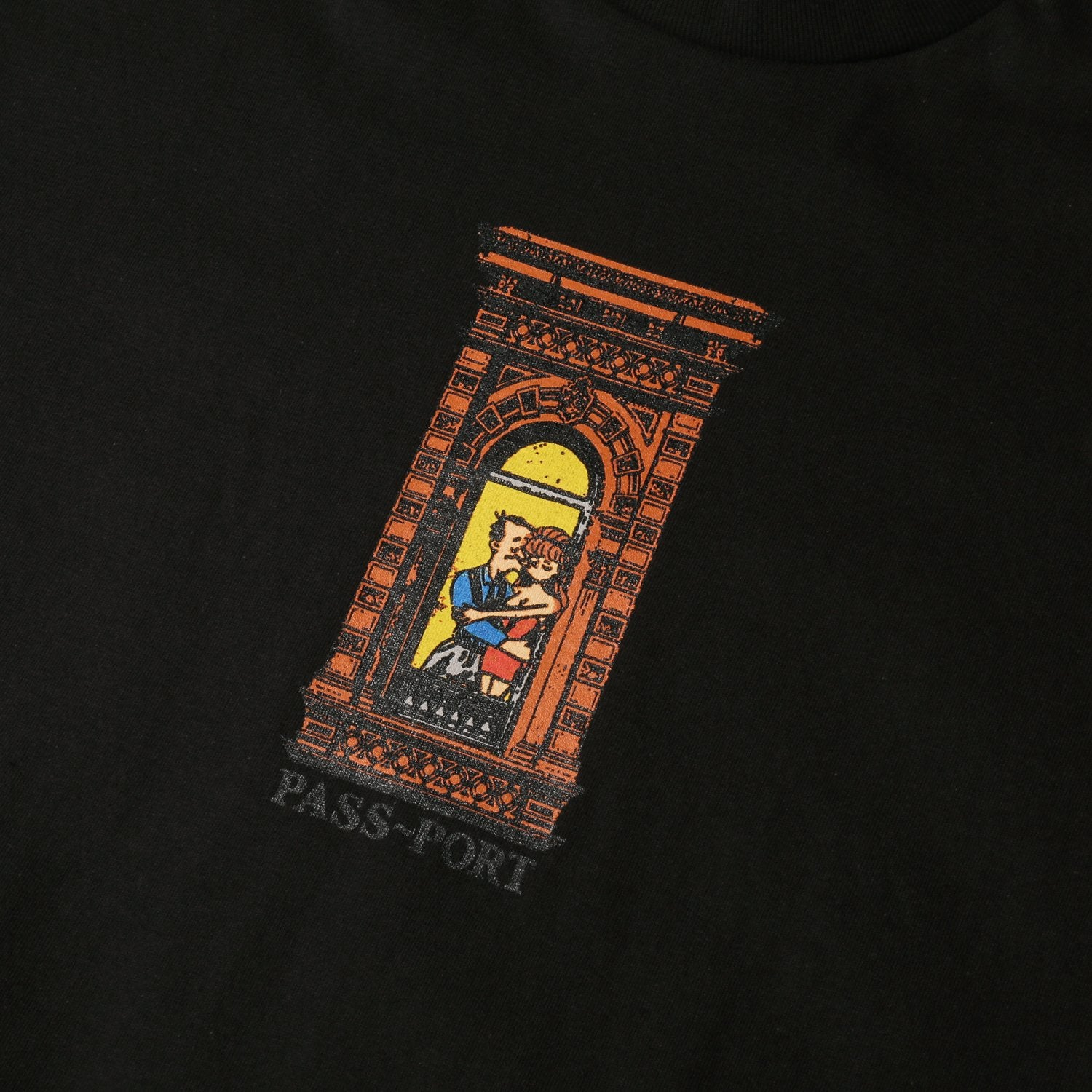 "PASS~PORT ""PRE-MEDI"" TEE BLACK"