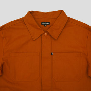 "PASS~PORT ""WORKERS"" PAINTERS JACKET GOLDEN BROWN"