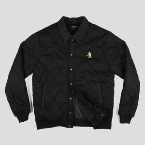 "PASS~PORT ""LATE QUILTED"" JACKET BLACK"