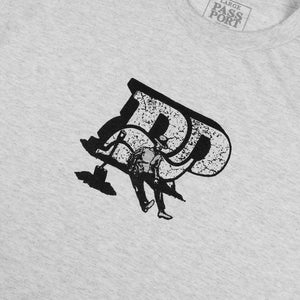 "PASS~PORT ""TOOLS DOWN"" TEE ASH"