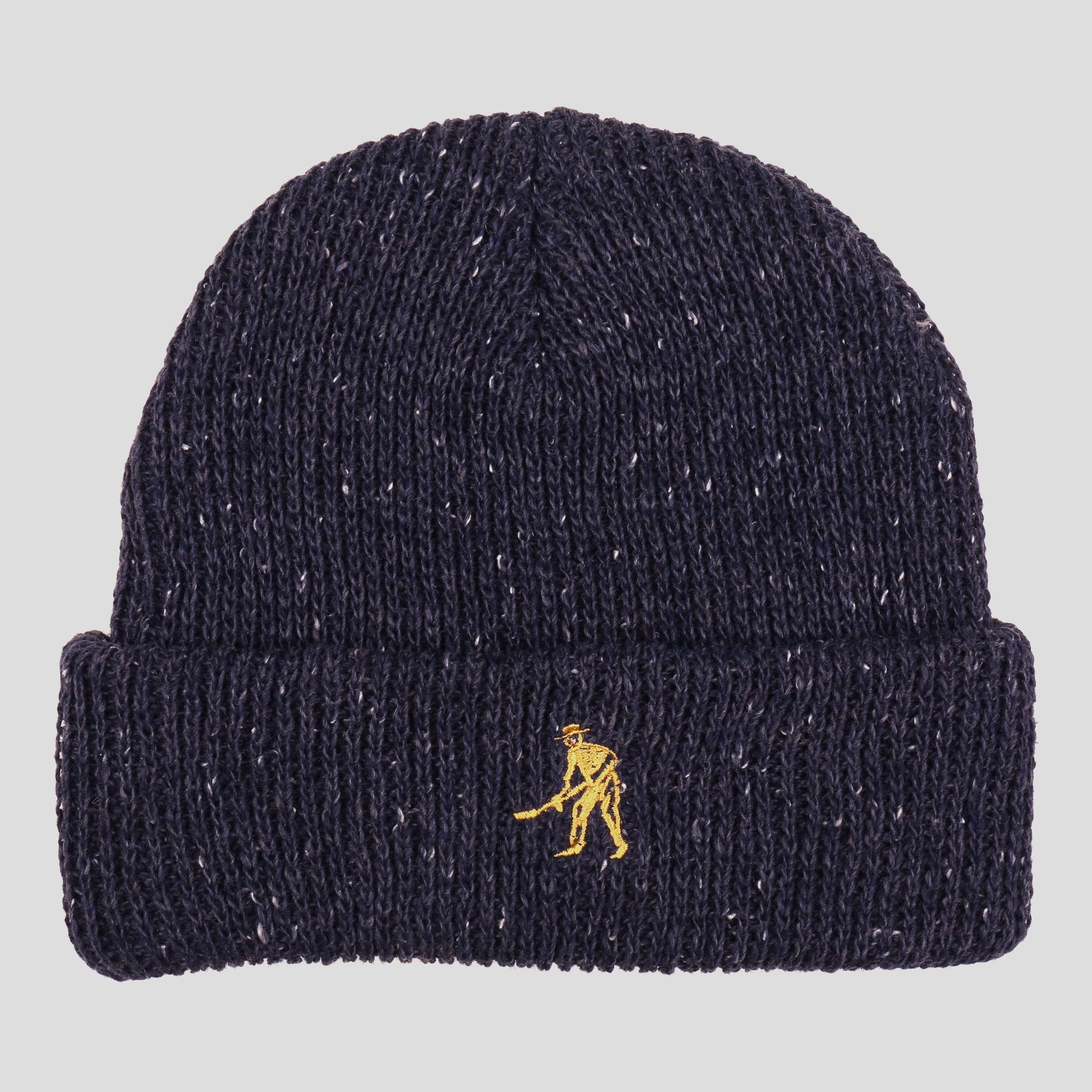 "PASS~PORT ""WORKERS"" BEANIE MIDNIGHT"