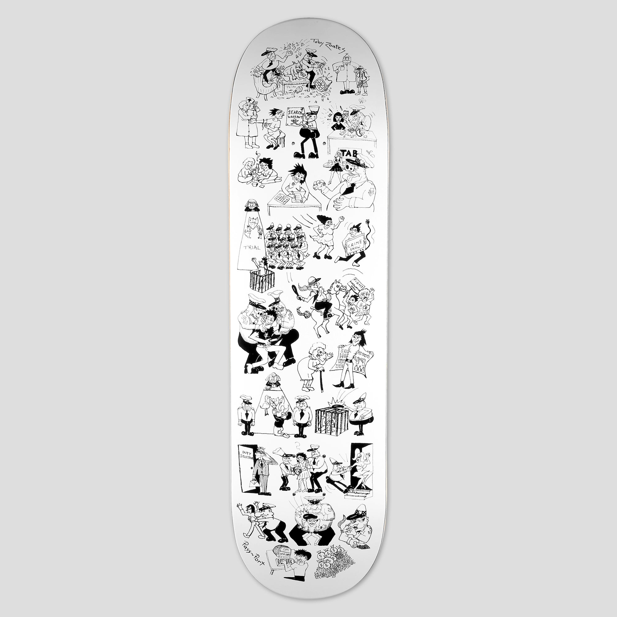 "PASS~PORT ""COPPERS"" TOBY ZOATES SERIES DECK"
