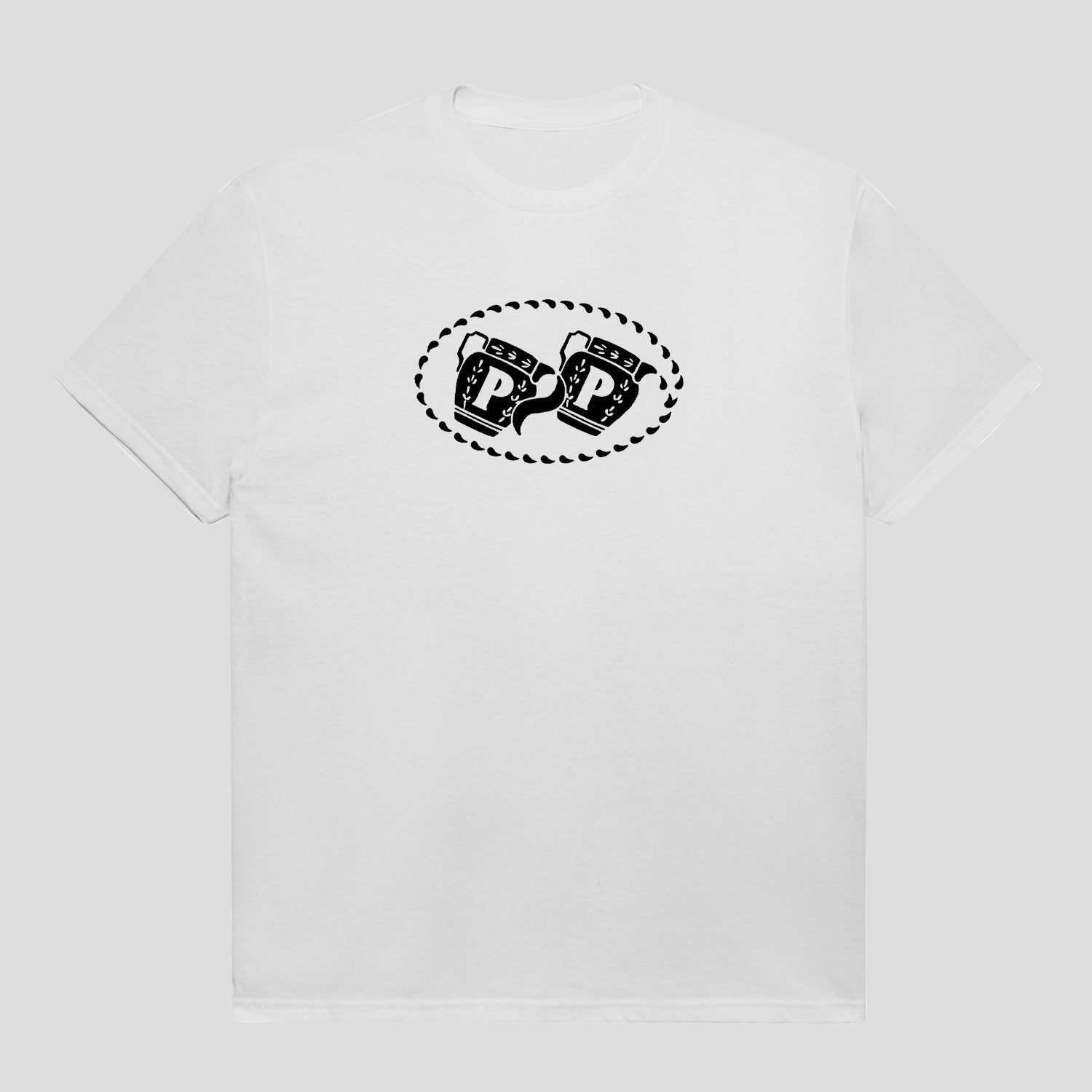 "PASS~PORT ""VESSELS"" TEE WHITE"
