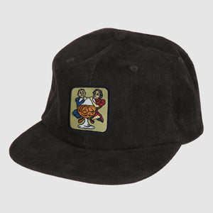 "PASS~PORT ""WITH A FRIEND"" CAP BLACK"