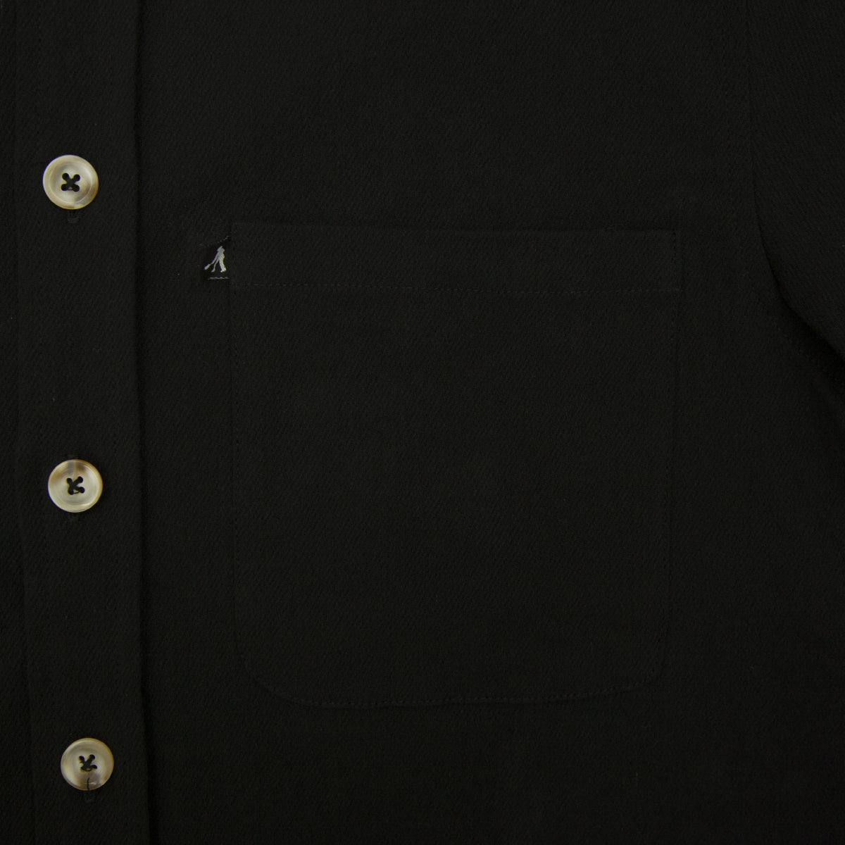 "PASS~PORT ""WORKERS"" SHIRT L/S BLACK"