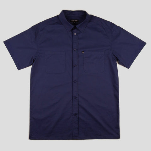 "PASS~PORT ""WORKERS"" SHIRT S/S NAVY"