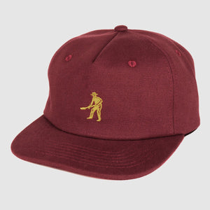 "PASS~PORT ""WORKERS"" 5 PANEL CAP MAROON"