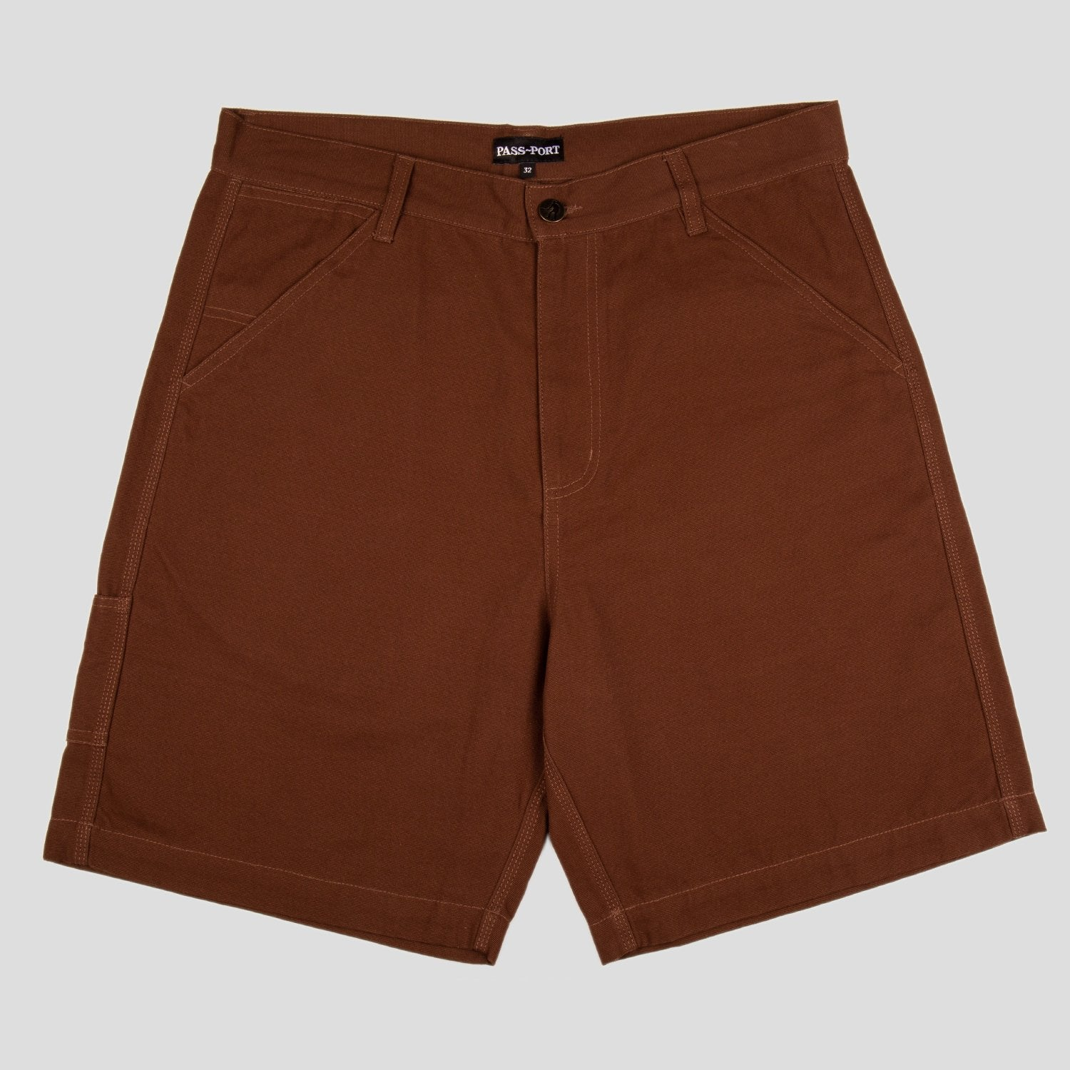 "PASS~PORT ""MOVERS"" SHORT BROWN"