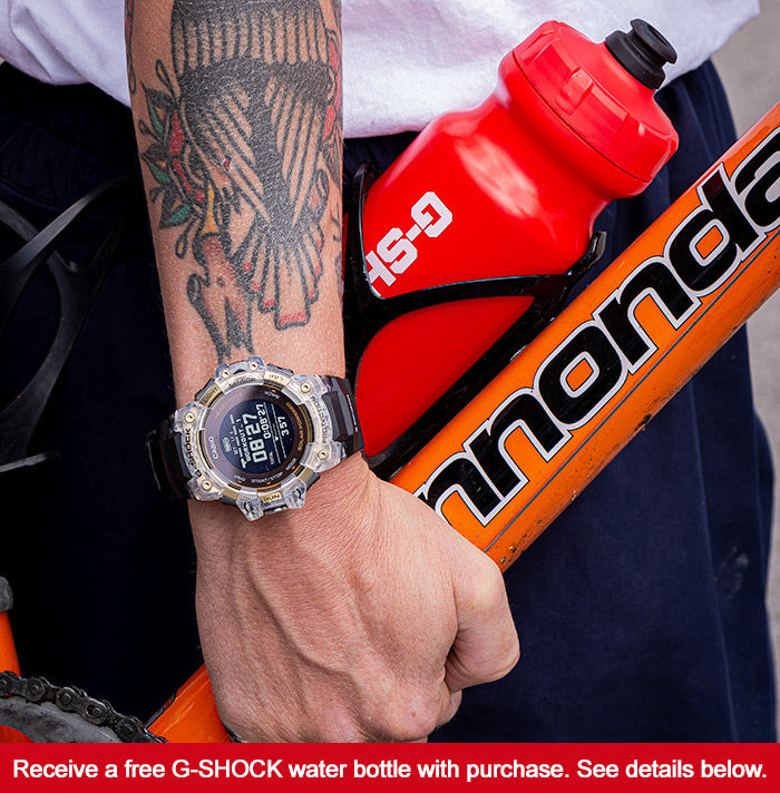 Free G-Shock Water Bottle With Purchase