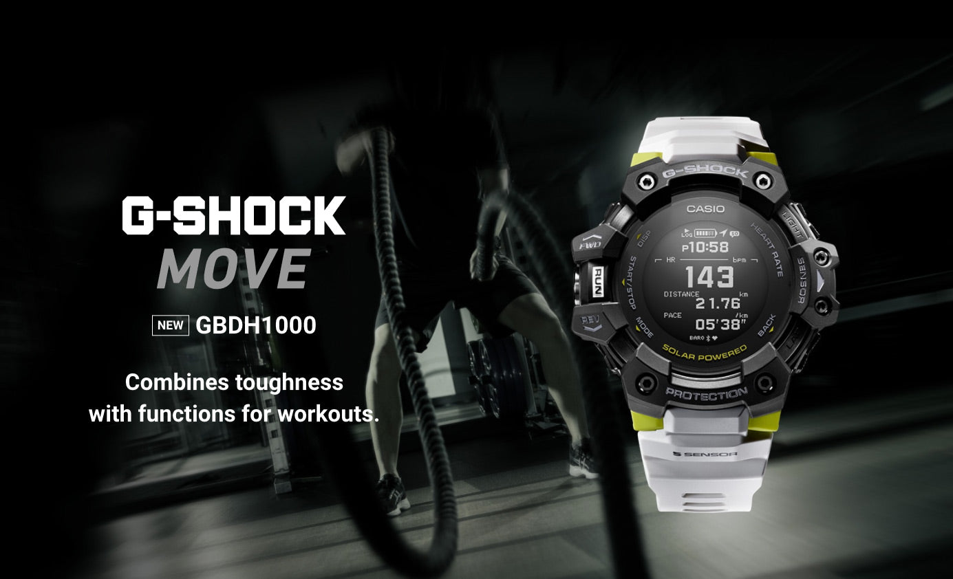 G-Shock Move Heart Rate Monitor Canada