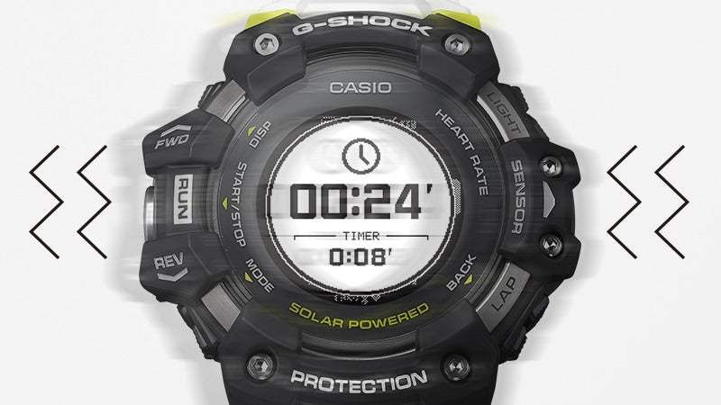 G-Shock Vibration Notification