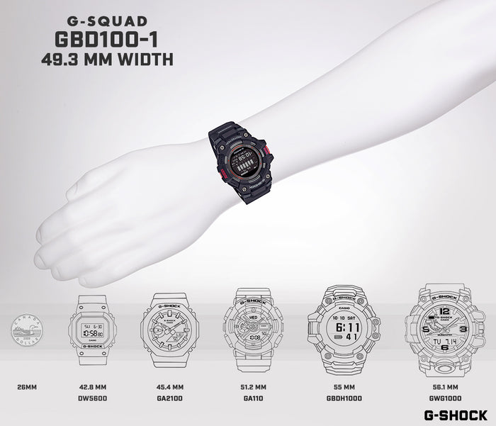 G-SHOCK MOVE GBD100-1
