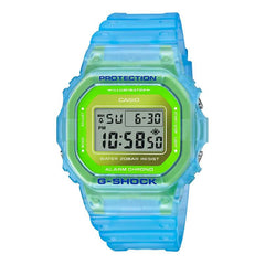 gshock DW5600LS-2 transparent mens fluorescent watch