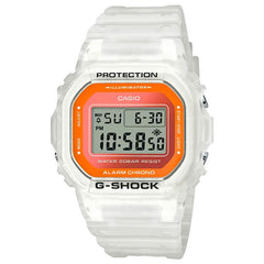 gshock DW5600LS-7 transparent mens fluorescent watch