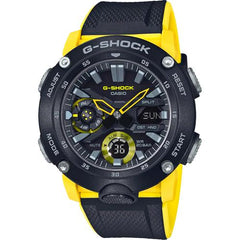 gshock GA2000-1A9 carbon core mens anadigi watch