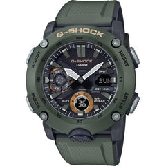 gshock GA2000-3A carbon core mens utilitarian watch