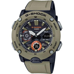gshock GA2000-5A carbon core mens anadigi watch