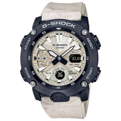 gshock GA2000WM-1A wavy marble mens carbon core watch